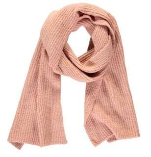 New Blush Pink Ribbed Scarf
