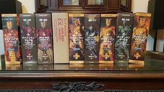 Marvel's Iron Man Revoltech 6inch Figures