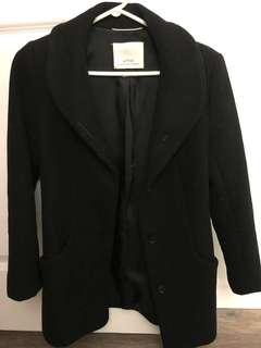 Aritzia Wilfred XS Wool Coat