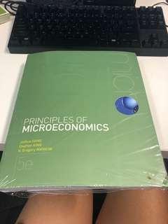 Principles of Microeconomics textbook