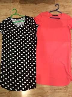 ForMe XS short dresses 2 for 400 only