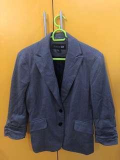Forever21 gray blazer Large
