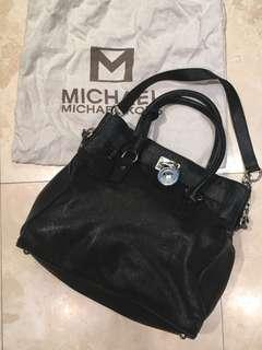 MICHAEL KORS Hamilton leather tote bag