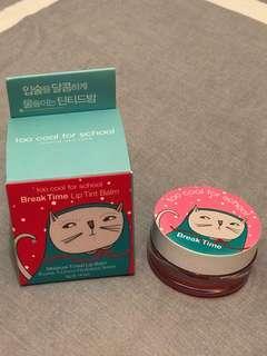 too cool for school Lip tint balm 全新有盒