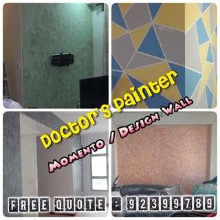 House Painting Services! Lowest price package! 专业油漆服务