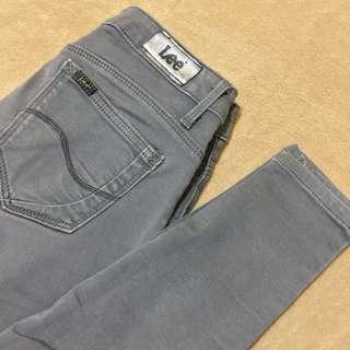 Authentic Lee Skinny Jeans Dark Grey