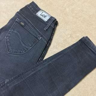 Authentic Lee Skinny Jeans Black