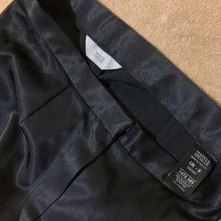 Marks and Spencer Satin Straight Leg Trousers