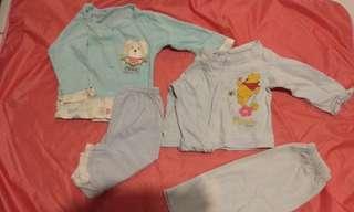 (NB 2) Baby Sleep Wear pyjamas Sets