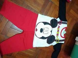 Mickey mouse set pyjamas