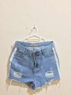Avenue Celana Pendek Hotpants Denim Short