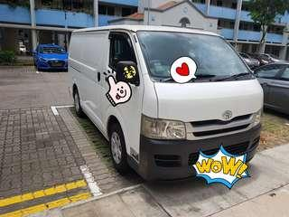 Van for rental short term/long term