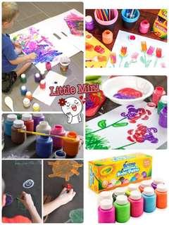 公司貨尾 - Crayola 可水洗兒童顏料10色