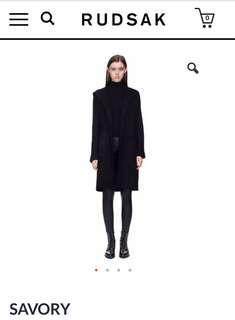 Rudsak Long Sweater with Hood XS/S