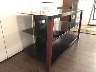 Tempered Glass TV Stand - $120 OBO