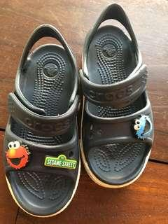 Authentic Crocs kids sandals (Sesame Street)