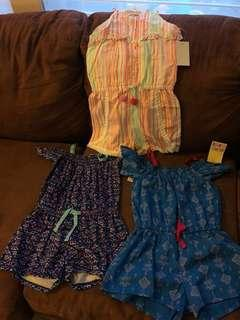 Original Brand New High Quality Branded Girls Rompers Bundle purchased in USA