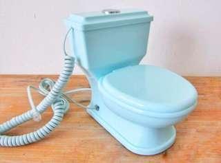 🚚 Antique Toilet Phone