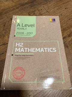 🚚 A Levels H2 Mathematics book
