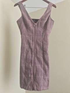 Overall Mini Dress