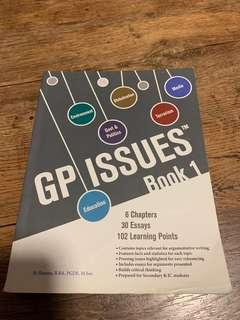 🚚 A levels GP issues book 1
