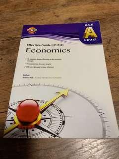 🚚 A levels H1/H2 economics guide book