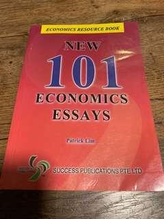 🚚 A Levels 101 economics essays book