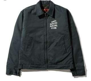 🚚 ASSC Coach Jacket Korea Green Size L