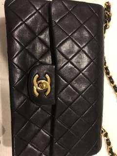 Chanel classic flap small double handbag