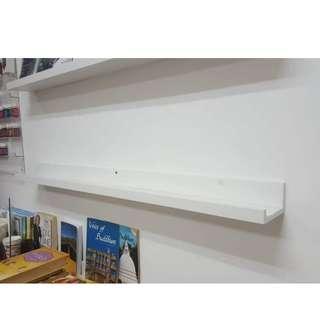 Ikea mounted shelving