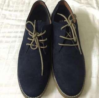 🆕H&M leather shoes (size 43)