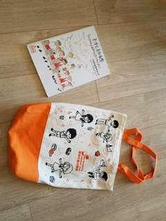 香港兒童合唱團初級書和布袋