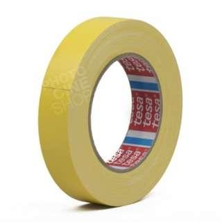 🚚 Yellow Shiny Glitter Wasai / Gaffer Tape