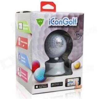 Genuine iConGolf WD0607i IPHONE / IPOD / IPAD Control Interactive Golf-Ball - White