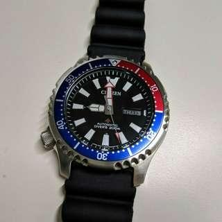 Citizen Promaster NY0088-11E Asia Limited Edition Automatic Watch (Lefty)
