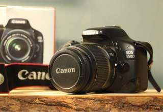 🚚 Canon EOS 550D 盒裝說明書都在!