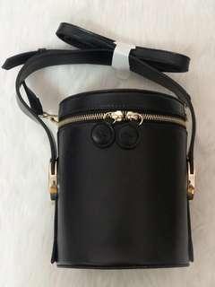 Jessica Jung Black Poppy Bag