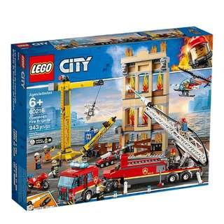 BN Lego City 60216 Downtown Fire Bridage