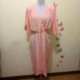 Peach Nighties Dress
