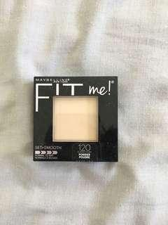 Maybelline fit me setting powder