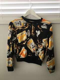 Authentic Moschino couture top