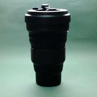 LIMITED EDT FULL BLACK COLLAPSIBLE CUP