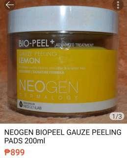 NEOGEN BIOPEEL GAUZE PEELING PADS 200ml