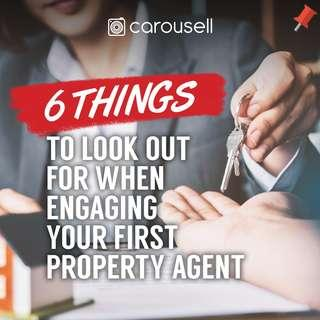 Engaging your first property agent? Here are 6 tips you'll need to know!