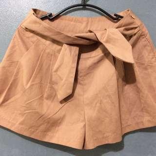 RUST Paperbag Shorts