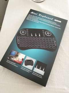 Backlit Wireless Mini Keyboard(air mouse)