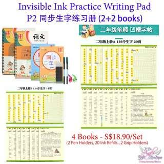 Invisible Ink Chinese Practice Book - P2 (4 books)