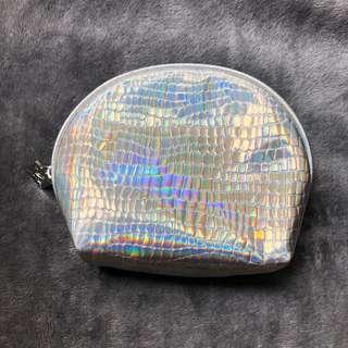 Silver Pouch for Women