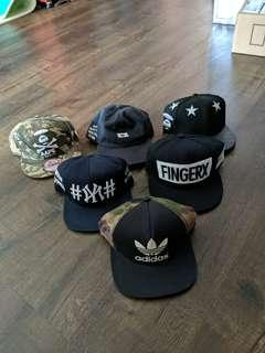 Price Firm : Assorted Caps like Aape Adidas Assc been trill