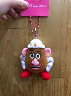 Mrs Potato Toy Story Keychain